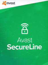 AVAST Secure Line VPN  2021- MULTI-DEVICES MacOS, iOS, Android, Win -2021 1 YEAR