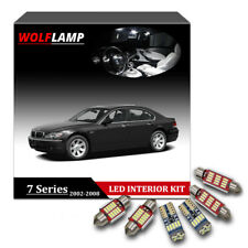20Pcs White Bulbs Canbus LED Interior Car Lights For 2002-2008 BMW 7 Series E65