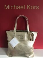🆕MICHAEL KORS GOLD Women's TOTE, SHOPPER BAG Brand New !!!
