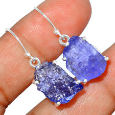 Tanzanite Crystal - Tanzania 925 Sterling Silver Earrings Jewelry BE667