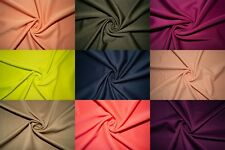 Scuba Techno Double Knit Fabric Stretch Polyester Spandex Lycra BTY