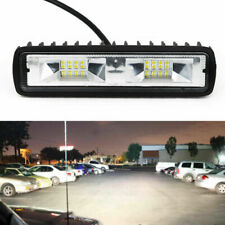 FARETTO 18W 12V-24V 16 LED Auto / SUV / Off-Road Lampada Da Lavoro Barra 6000K