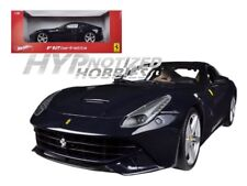 HOT WHEELS 1:18 FOUNDATION FERRARI F12 BERLINETTA DIE-CAST BLUE BCJ73