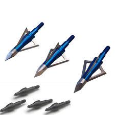 Excalibur Bolt Cutter Broadheads 100 grain Three Pack BoltCutter 3 + field point