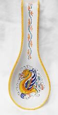 Deruta Pottery-Spoon Rest Raffaellesco Made/Painted by hand Italy