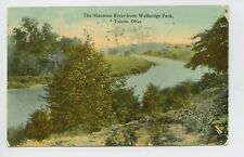 Postcard - Toledo, OH - Early 1913 View of Maumee River from Walbridge Park - A