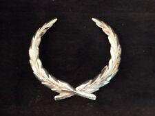 Cadillac Silver Wreath Emblem Glue-On