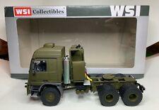 Rare WSI Mercedes benz Actros  mp3  6X6 Titan military truck Diecast 1:50 not 43