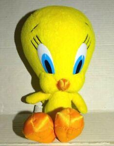 "2003 Mattel Looney Tunes Tweety Bird Plush 8"" flaws"