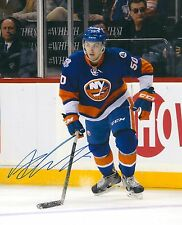 ADAM PELECH signed NEW YORK ISLANDERS 8X10 photo w/ COA A