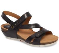 JOSEF SEIBEL Women's Josef Seibel Hailey 33 Wedge Black Sandals Size 40 $129