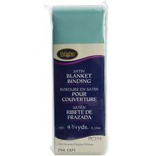 Single Fold Satin Blanket Binding 2in Aquamarine 2