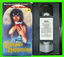 The Vampire Happening VHS Horror