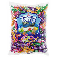 1kg Bag TOFFIX TROPICAL FRUIT CHEWY CANDIES Gift Fillers Party Bag Candy Sweets