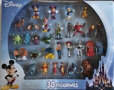 Disney 30 Piece Assorted Mini Figure Figurine Toy Cake Topper Age 3+ NEW