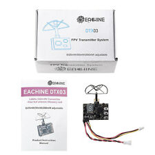 Eachine DTX03 0/25mW/50mW/200mW 5.8Ghz Switchable VTX / DVR W/ Audio