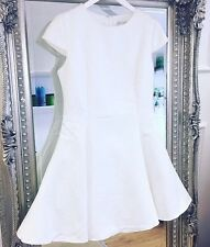 Brand New ASOS Glamorous White Wedding Tutu Skater Dress med 10/12/14 Bridal HEN