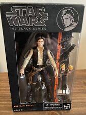 Hasbro Star Wars The Black Series Han Solo Action Figure