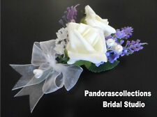 WEDDING FLOWERS CORSAGES BUTTONHOLES MOTHER OF THE BRIDE PIN ON
