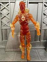 "Marvel Legends Hasbro Fantastic Four Ares BAF Series HUMAN TORCH 6"" Figure 2"