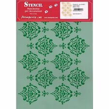 Schablone flexibel Stamperia Ksg71 Rosette 6 Cm 21 X 29 7