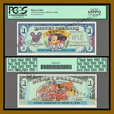 "Disney 1 Dollar, 1993 ""AA"" Series Mickey's 65th PCGS 65 PPQ"