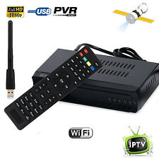 DVB-S2 Digital Satellite + Wifi IPTV Combo AC3 Receiver Blind TV BOX IKS Youtube
