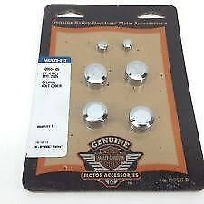 Harley Davidson front rear brake caliper bolt cover kit touring dyna softail