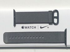 NEW APPLE WATCH STRAP WOVEN NYLON BAND 42/44mm BLACK -2016 Collection