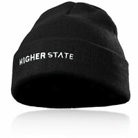 Higher State Mens Cold Weather Beanie Black Sports Running Outdoors Warm
