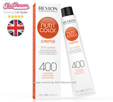 Revlon Professional Nutri Color Creme 400 Tangerine 100ml TUBE 3 in 1 Colour
