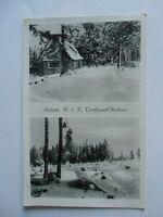 Ansichtskarte Skihütte W.S.V. Torthaus Oberharz (Nr.654)