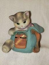 Calico Kittens 'You Lighten My Load' Cat Figurine 1998