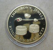 """2004 Turks & Caicos 5 couronnes La Couronne Bijoux """"Bague et bracelets"""""""