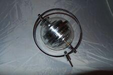 More details for vintage sputnik weather station hygrometer barometer west germany globe
