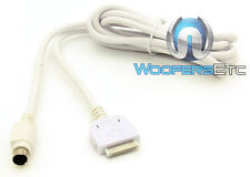 CLARION CCUIPOD1 IPOD ADAPTER WHITE CABLE FOR CMS1 MARINE BOAT STEREO RADIO NEW