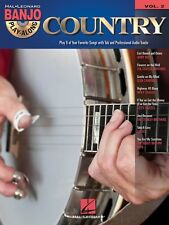COUNTRY BANJO PLAY-ALONG VOLUME 2 SHEET MUSIC SONG BOOK W/CD