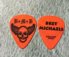 Bret Michaels Band Poison Guitar Pick Rock Of Love tour 2007 hard to get