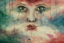 *I WILL TRY TO FIX YOU* LIMITED EDITION CANVAS ART PRINT OF ORIGINAL PAINTING