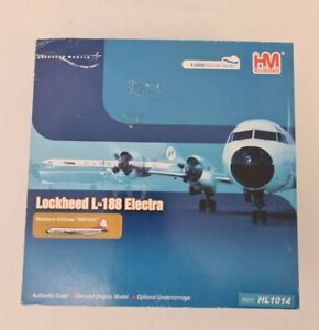 HOBBY MASTER 1/200 WESTERN AIRLINES LOCKHEED L-188 ELECTRA INDIAN HEAD HL1014