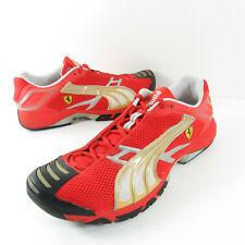 Puma Ferrari SF Team Sneakers II Mens Size 10 Red Gold Silver 300634