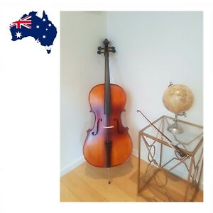Brand New Full Size Cello | Solid Maple Cello | Includes Bow, Padded Case, Rosin