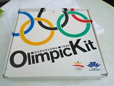 Barcelona 1992 Olympic Games Opening Ceremony Brochure Boxed Kit. Incomplete