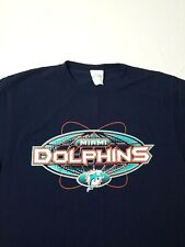Miami Dolphins T Shirt Mens Size M