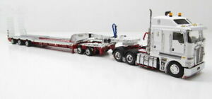 Kenworth K200 Drake 3x8 Swingwing Trailer - White/Red 1:50 Scale #ZT09013A New!