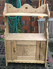 Vintage Oak Cabinet/ Shelf Unit.