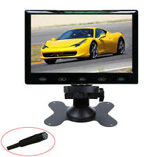 "HD Ultra Thin 7"" Inch 800x480 TFT LCD Color Audio HDMI VGA Car Rear View Monitor"