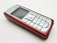 Unlocked VGC Nokia 6230i - 32MB - Red/Silver Mobile Phone