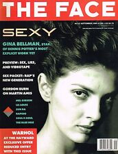 THE FACE 09/1989 GINA BELLMAN Andy Warhol LESLIE NAVAJAS Isabelle Pasco @MINT@