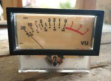 Sifam England UK AL29 VU Meter TESTED. w/Bezel and Hardware. Audioarts Wheatston